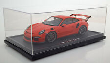 Spark Porsche 911 (991) GT3 RS Lava Orange w Display Dealer LE of 200 1/12 Scale