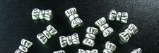 300 Pcs Tibetan Silver tie barrel spacer beads FC413