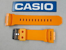 Genuine Casio G-Shock G-Lide GLX-150 GLX-150-4 resin rubber watch band orange
