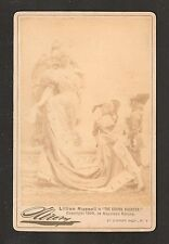 "1894 Sarony Cabinet Card - Lillian Russell ""The Grand Duchess"" Union Square NY"