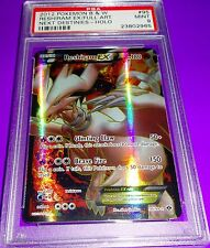 Pokemon Reshiram B & W EX Full Art Holo PSA 9