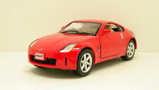 "Kinsmart Nissan FairLady 350Z 1:34 scale 5"" diecast model car New Red K78"