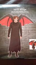 Airblown Inflatable Devil Wings Halloween Costume Mens or Womens Adult One Size