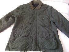 THOMAS BURBERRY MENS QUILTED JACKET SIZE L  USED    Festival/Work/Hunting