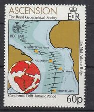 Ascension Island 1980 anniversario fondazione Royal Geographical Society Mnh