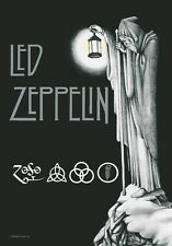 LED ZEPPELIN AUFKLEBER / STICKER # 8 STAIRWAY TO HEAVEN - 7x5cm