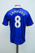 SIZE S CHELSEA LONDON 2008/2009 HOME FOOTBALL SHIRT JERSEY ADIDAS LAMPARD #8