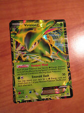 NM Pokemon VIRIZION EX Card PLASMA BLAST Set 9/101 Black and/&White BW TCG Rare