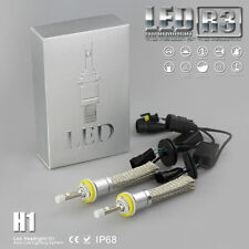 H1 CREE XHP-50 LED BULB 9600lm!!! SET 80W CAR R3 HEADLIGHTS CONVERSION KIT 6000k