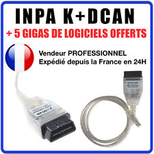 INTERFACE CABLE K+DCAN K+CAN OBD OBD2 BMW & MINI SCANNER INPA OUTIL DIAGNOSTIQUE