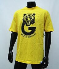 GRIZZLY GRIPTAPE SUPPLY CO. TEAM G YELLOW MENS T SHIRT 2XLARGE