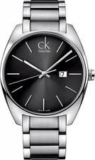 Orologio Uomo CALVIN KLEIN EXCHANGE K2F21161 Acciaio Nero CK SWISS MADE