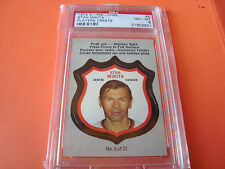 1972 OPC o-pee-chee #5 Stan Mikita psa 8 player crests Chicago Black Hawks