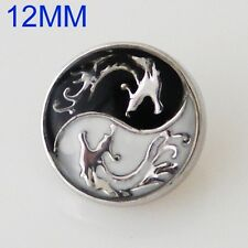 Click button mini Petite s5562 dragón Ying Yang-compatible fragmentos-sistemas 12mm