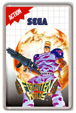 FORGOTTEN WORLDS SEGA MASTER SYSTEM FRIDGE MAGNET IMAN NEVERA