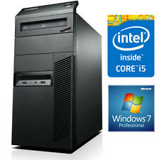Lenovo ThinkCentre M90p MT Core i5-660 4GB Windows 7 Pro Desktop Computer