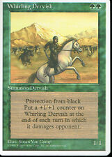 MAGIC THE GATHERING 4TH EDITION GREEN WHIRLING DERVISH