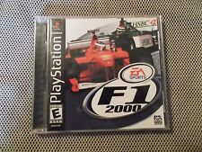 F1 2000 (Sony PlayStation 1, 2000)  COMPLETE