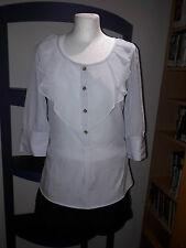 Chemisier top shirt t-shirt vila by vero moda taille xs 34 s 36 3/4 bras tunique neuve