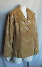 Butter Soft ANDREW MARC, N.Y.  Semi Fitted Leather Jacket Sz L