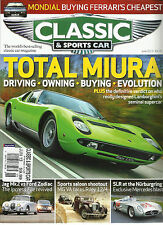 CLASSIC & SPORTS CAR, JUNE, 2013 ( THE WORLD'S BEST-SELLING CLASSIC CAR MAGA