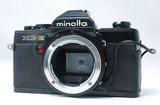 Minolta XG-E 35mm SLR Film Camera w/DATA BACK  SN6019302
