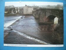 POSTCARD NORTHUMBERLAND RIVER SOUTH TYNE AT HAYDON BRIDGE