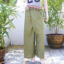 Yoga Massage Harem Meditation Wide Leg Man Plus Size Fisherman Pants Trousers