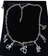 MORTAL INSTRUMENTS NECKLACE RUNE VOYANCE FEARLESS FRIENDSHIP HEAL ANGELIC MARKS