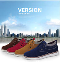 New Men Suede Increased within 7cm Sneaker Sporting Casual Elevator Shoes CD1702
