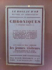 LE ROSEAU D'OR : Chroniques 2e numéro : contenant des poèmes... -  N° sur alfa.