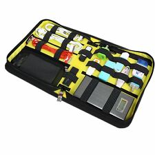Universal Black Travel Case Organiser Electronics & Accessories Cables Chargers