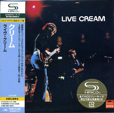 CREAM Live Cream( 1970 ) Japan Mini LP SHM-CDUICY-93699 Eric Clapton Blind Faith
