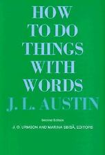 The William James Lectures: How to Do Things with Words 1 by J. L. Austin...
