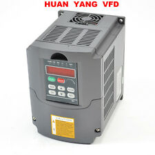 2.2KW 3HP 220V SPEED CONTROL VARIABLE FREQUENCY DRIVE INVERTER VFD 10A CE NEW