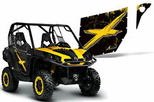 AMR Racing Can-Am Commander/Mave UTV Door Graphics Wrap for Pro Armor 2 Doors BY