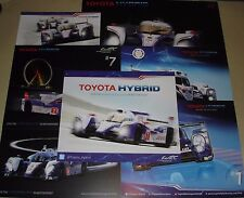 Le MANS 2012 2013 2015 CME TOYOTA Hybrid RACING GATTINO ts030 ts040 #1 #2 Card Set