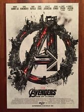 """Avengers: Age Of Ultron Hi-Res IMAX Movie Poster 13""""x19"""" EMBOSSED!!  LIMITED ED!"""
