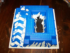 Lego Vintage Raised Base plate From Set 6983 Ice Planet Odyssey NICE!