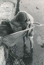 ÎLE DE MAJORQUE c. 1935 - Pêche à la Crevette Espagne - Div 6418