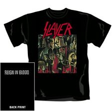 Slayer-reign in Blood (incl. Backprint) - t-shirt-taille size s-NEUF