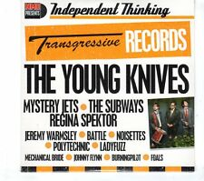 (GR752) The Young Knives, 14 tracks various artists - sealed NME CD