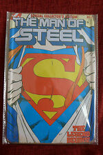 The Man Of Steel Metal Sign Painted Poster Comics Book Superhero Wall Decor Art