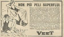 W5832 Crema depilatoria Veet - Pubblicità 1926 - Advertising