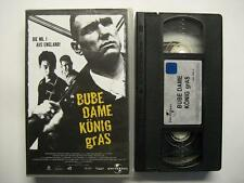 BUBE DAME KÖNIG GRAS - VHS VIDEO - GUY RITCHIE