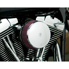 Arlen Ness Big Buzzsucker Filtre à Air Chrome Cover Kit pour Harley twin cam 99-15