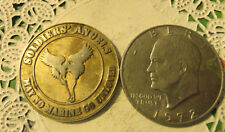 Commerative large/dollar size /heavy medal/Token /Soldiers Angels  #138