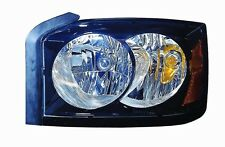 2006-2007 Dodge Dakota New Right/Passenger Side Headlight Assembly Black Bezel