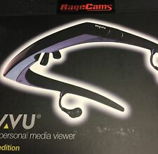 MYVU 301 SOLO PLUS VIDEO GLASSES LCD FPV FOR XBOX PLAYSTATION CABLE TV DVD WII