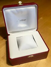 CARTIER Watch Box Santos Le Must Pasha Seatimer Roadster Trinity Tank 0043 OEM
